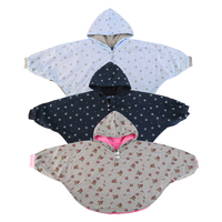 Hot Newborn Baby Girl Boy Hooded Cloak Poncho Jacket Outwear Coat Warm 2 Size 3 Colors