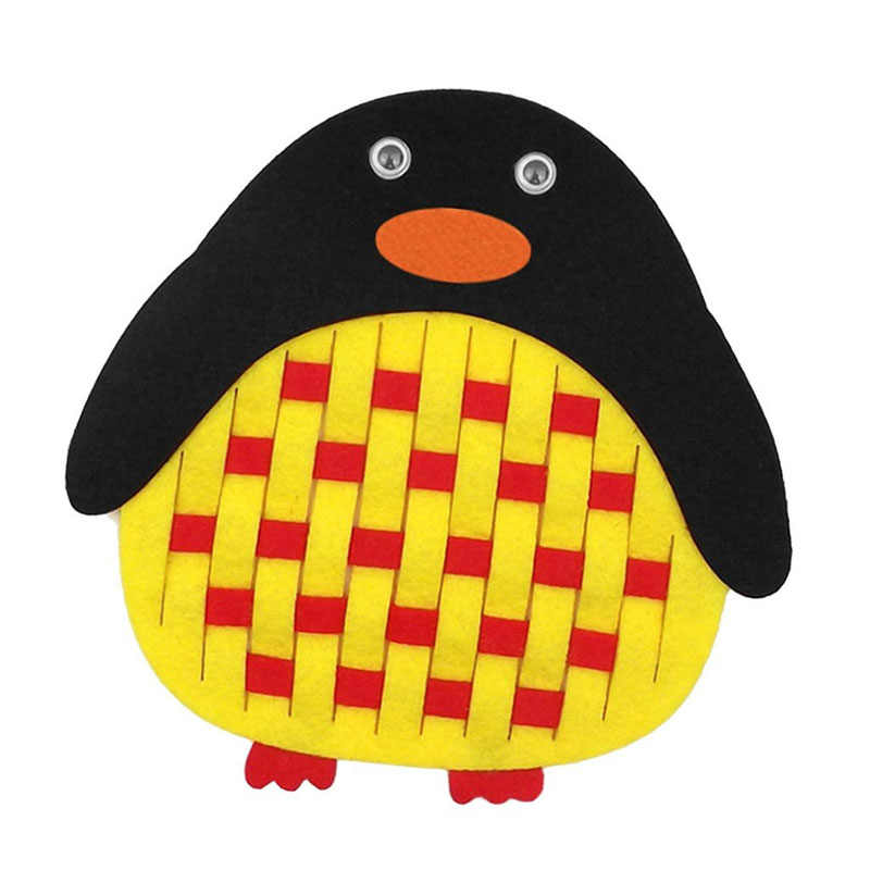 ใหม่การ์ตูนจรวดปลา Icecream หมวกนกฮูกเพนกวิน Felt เด็ก Handmade ปริศนา Nonwoven ตกแต่ง DIY Felt แพคเกจ