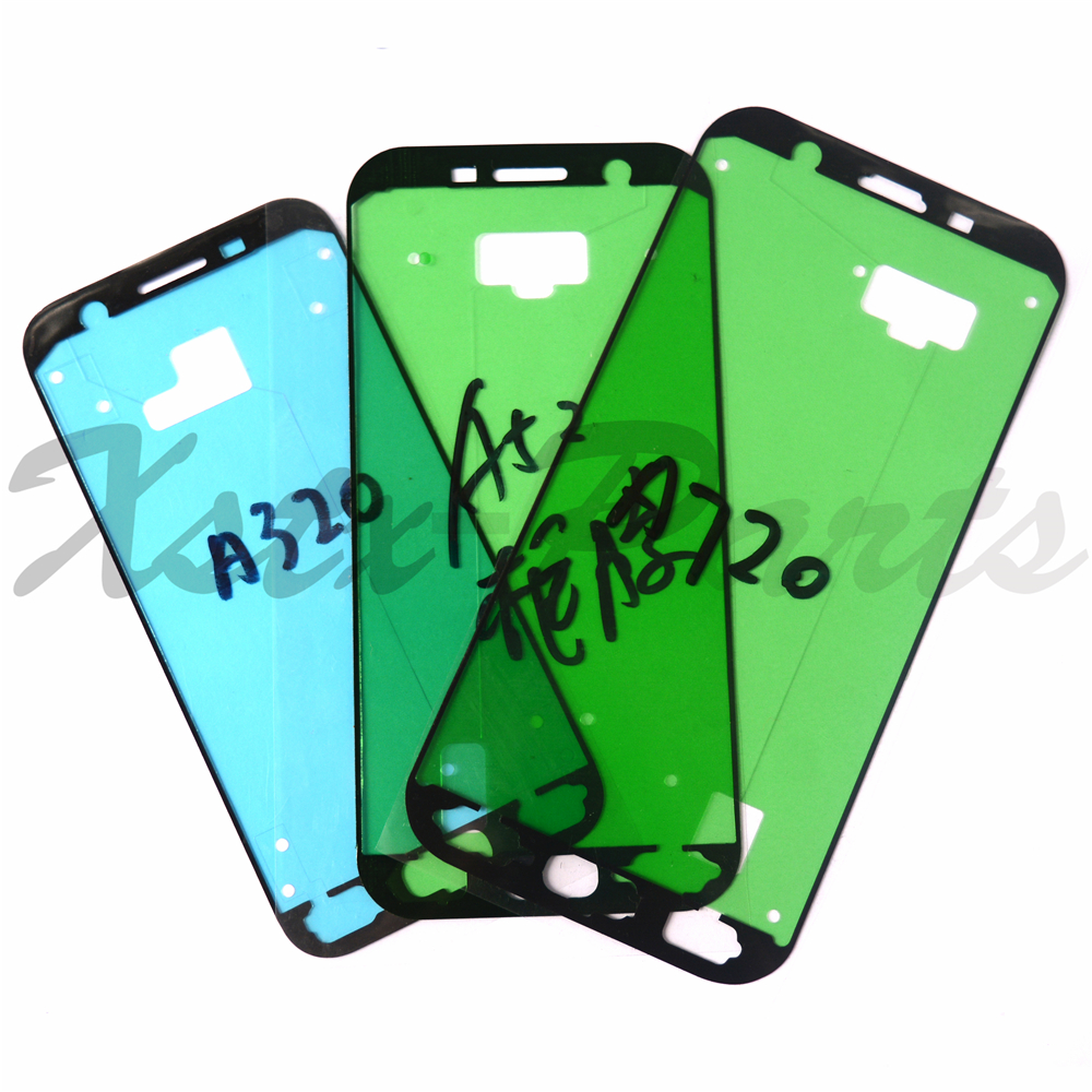 100PCS Housing Sticker Front Frame Plate Cover Adhesive For Samsung Galaxy A3 A5 A7 2017 A320 A520 A720 Tape Glue