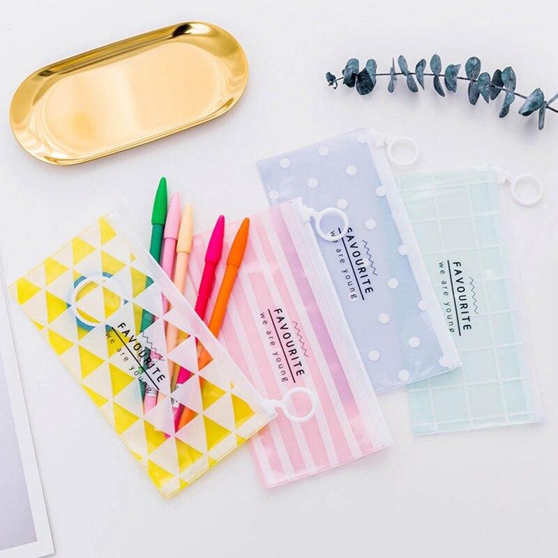 Clever Pvc Transparent Kosmetik Tasche Frauen Reisen Tragbare Zipper Machen Up Taschen Mädchen Make-up Fall Schönheit Organizer Toiletry Lagerung Waschen Heller Glanz