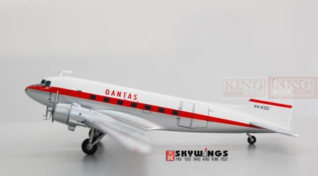 Offer: Wings JC2091 Special JC Australian aviation VH-EDC 1:200 (C-47A) DC-3 commercial jetliners plane model hobby 11010 phoenix australian aviation vh oej 1 400 b747 400 commercial jetliners plane model hobby