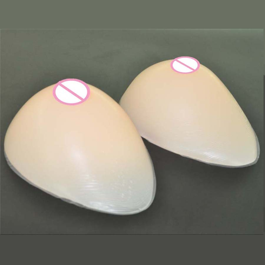 500 g/paia B Tazza di colore beige siliconi Realistiche Forme del seno protesi Artificiale Tette Tette finte forma de silicone rilievi del Reggiseno