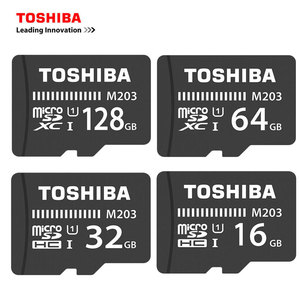TOSHIBA Micro SD Card 128GB 64GB SDXC Class 10 UHS-I Memory Card SDHC 16GB 32GB TF/microsd SD Micro Card