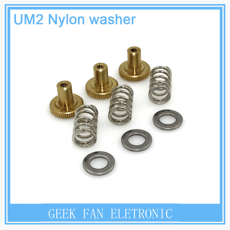 For 3D UM2 printer accessories DIY Ultimaker2 special printing platform adjustable draw fixed screw nut KIT077 sony hdr az1vr экшн камера пульт ду live view
