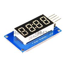 1pcs 4 Bits Digital Tube LED Display Module With Clock Display TM1637 for Arduino Raspberry PI