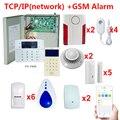 FC-7640 DIY безопасности систем беспроводной и проводной зоны детекторы сирена сигнализация
