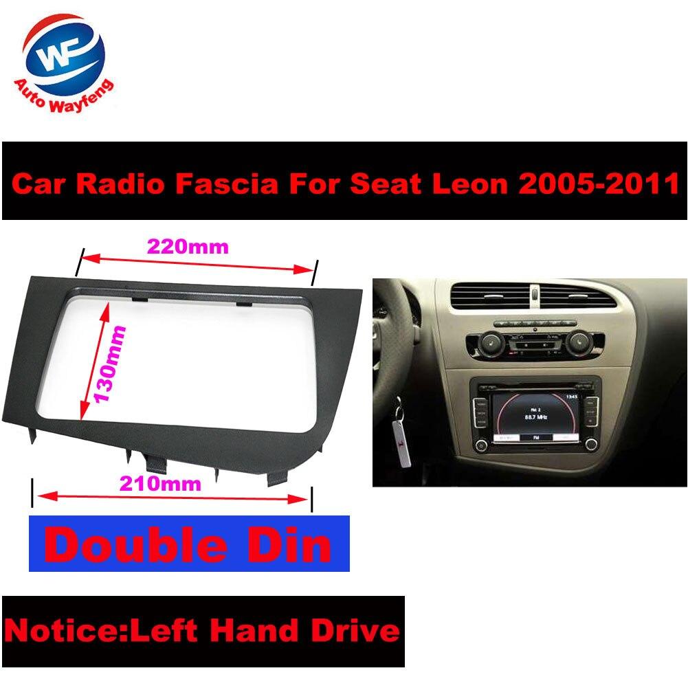Double 2 DIN Car Stereo Radio Head Unit font b GPS b font Navigation plate panel