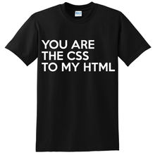 CSS TO MY HTML FUNNY PRINTED MENS T SHIRT COMPUTER GEEK NERD NOVELTY SLOGAN TEE New Shirts