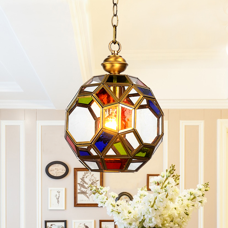 Hilton, American single head small Pendant Lights porch lamp aisle lamp positive desk lamp entrance hall lamp exotic LU719135 tiffany the restaurant in front of the hotel pendant lights cafe bar small aisle entrance hall creative pendant lamp za df7 lo10