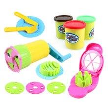 High Quality DIY Manual Plasticine Color Of Mud Play Dough Mold Child s Christmas Present Free