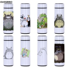 OUSSIRRO High Quality Totoro Lovely Thermos Pretty Coffee Mug Stainless Steel Vacuum Cup  Sports Water Bottle