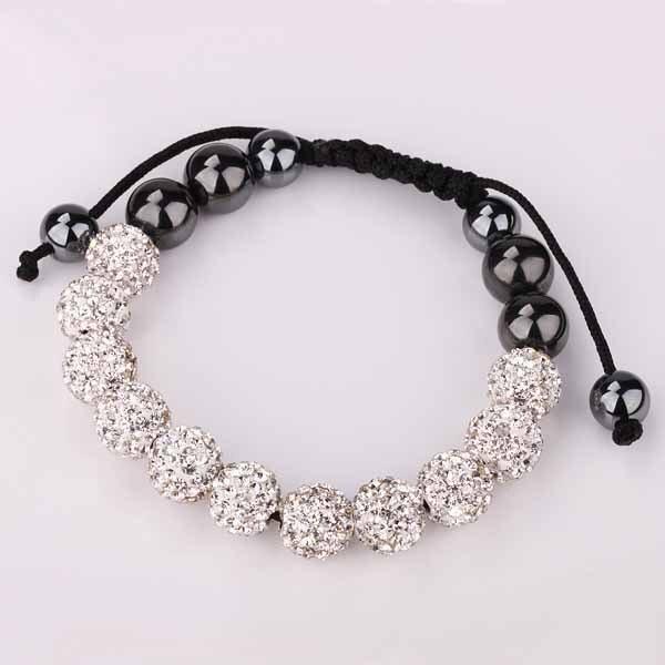 Brand new Expensive shamballa bracelets 11 disco ball beads T paris free  ST14