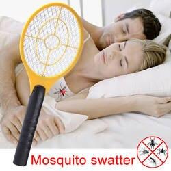 Руки ракетки Электрическая мухобойка домашний сад насекомых ошибках Бат ОСА Zapper Fly вредителями Управление HG99