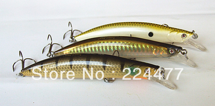 10cm/16g Suspending Type Minnow Bait Hard Plastic False Lure With Chinese Hook