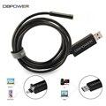 DBPOWER 720 P HD Inspeção de Endoscópio Android PC USB 2 em 1 câmera 7 MM Endoscópio 0.3MP Câmera De Vídeo Ajustável 6 LED Night Vision