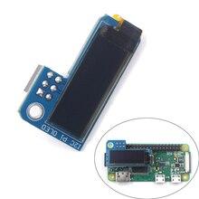 PiOLED Monochrome 0.91 inch IIC I2C 128x32 OLED Screen Add-on for Raspberry Pi Zero SSD1306 Blue DC 3.3V FZ3579 usb zu i2c iic master converter for adc decoder program 24xx eeprom tv set