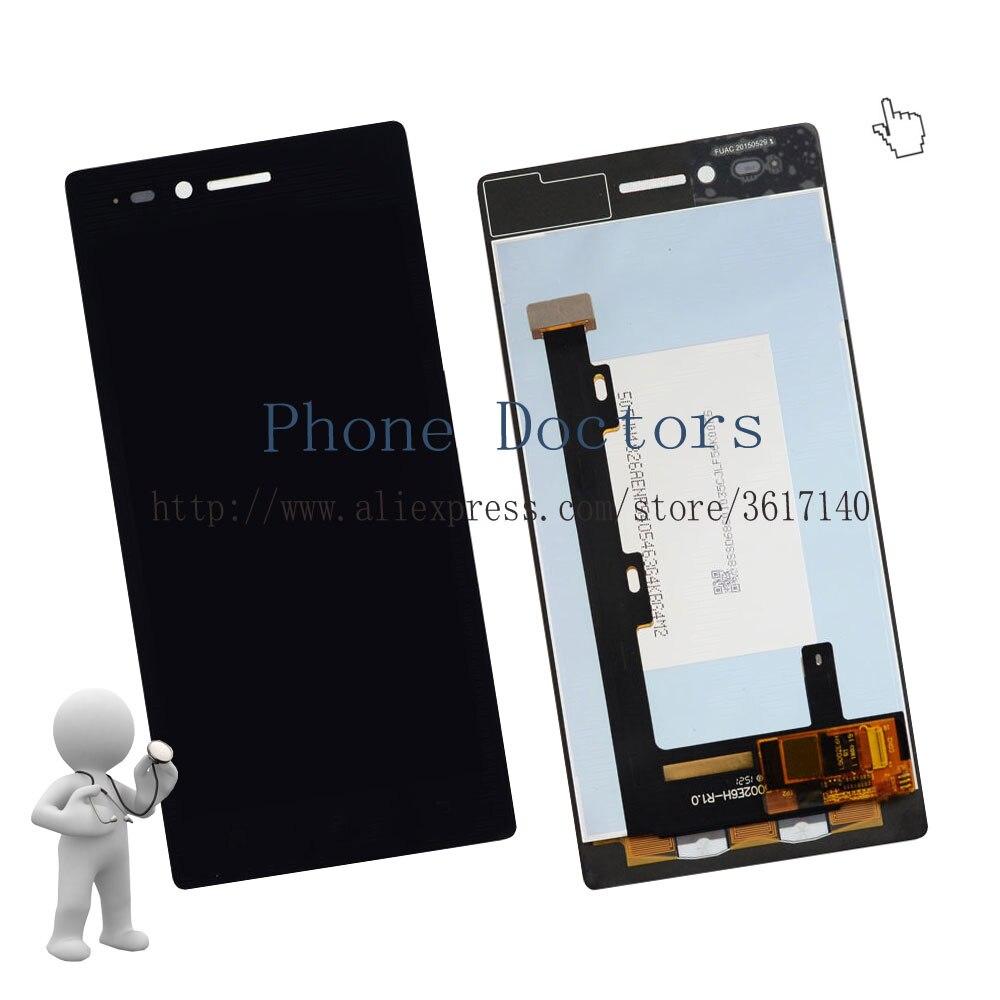 5.0'' Touch Screen Digitizer Glass + LCD Display Assembly For Lenovo Vibe Shot Z90 Z90a40 Z90-7 Z90-3 ; New ; Black ;100% Tested