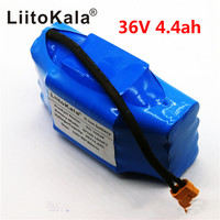 2019 36V rechargeable li ion battery pack 4400mah 4.4AH lithium ion cell for electric self balance scooter hoverboard unicycle
