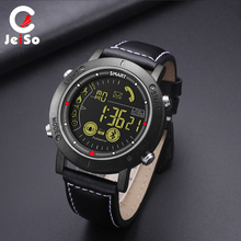 JEISO Smart Watch Men Waterproof Calorie Pedometer Message Reminder Bluetooth Digital Smartwatch Military Sport Mens Watches
