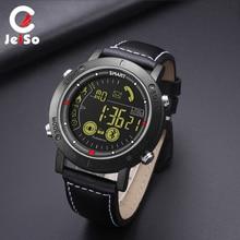 JEISO Smart Watch Men Waterproof Calorie Pedometer Message Reminder Bluetooth Digital Smartwatch Military Sport Mens Watches