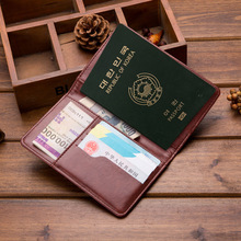 2019 new men and women PU ultra-thin passport wallet the hand-held documents package multi-function passport card sets purse ID стоимость