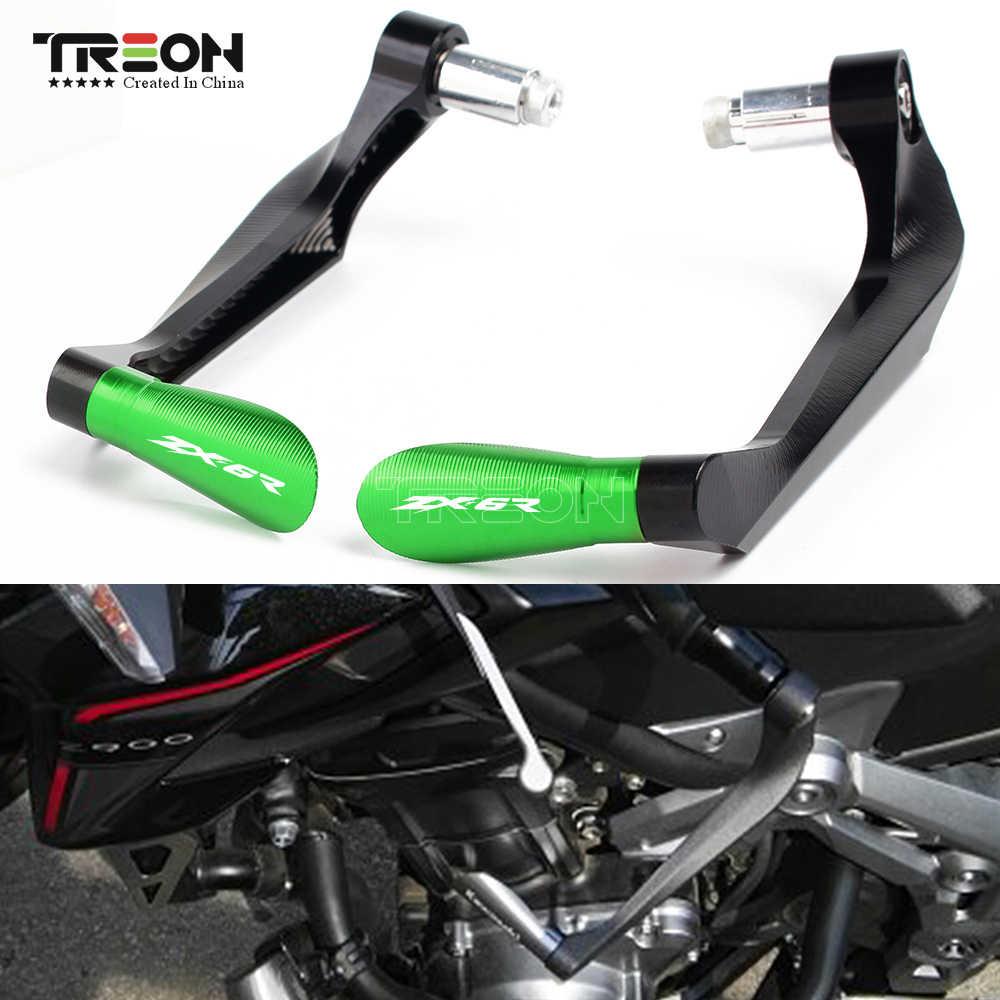 Pcr 1 paire accessoires moto pour KAWASAKI zx6r poignées guidon zx6r garde frein embrayage leviers garde protecteur