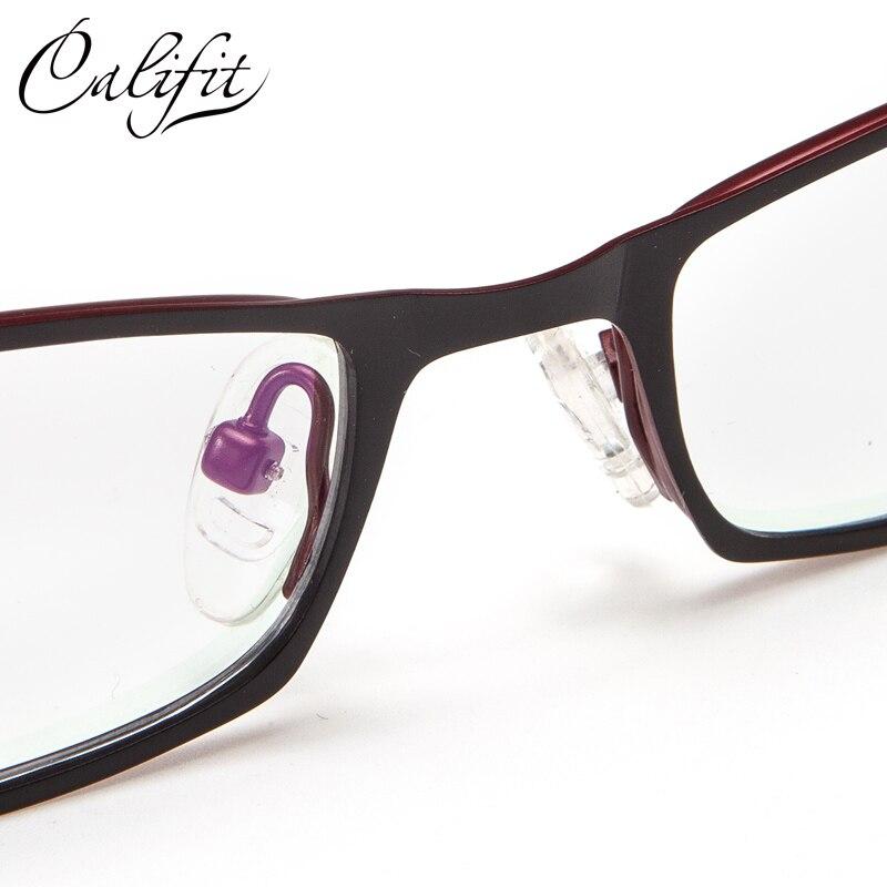 Optische Neue Design Damen Marke Titan Muster Elegante Frauen Gläser Linse 005 brillen Hohle Büro Califit qOHxtt