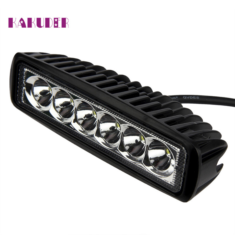 18W Flood LED Light Work Bar Lamp Driving Fog Offroad 4WD Car Boat Truck Luz Ligero quality NEW HOT augu10