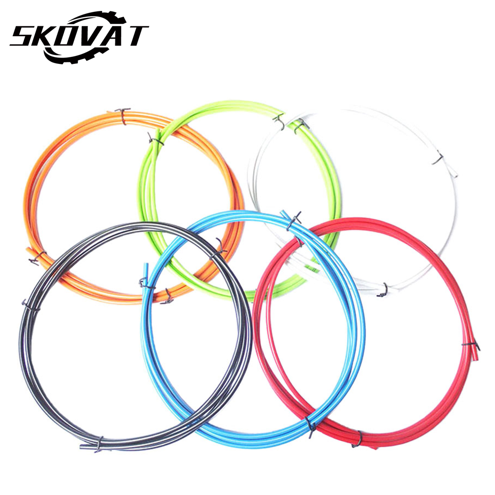 MTB Road Bike Line Tube Sykkel Gear Shift Cable Housing Sykling Shifting Ytre Kabler Sykkel Derailleurs Kabel Slange 4mm 2m