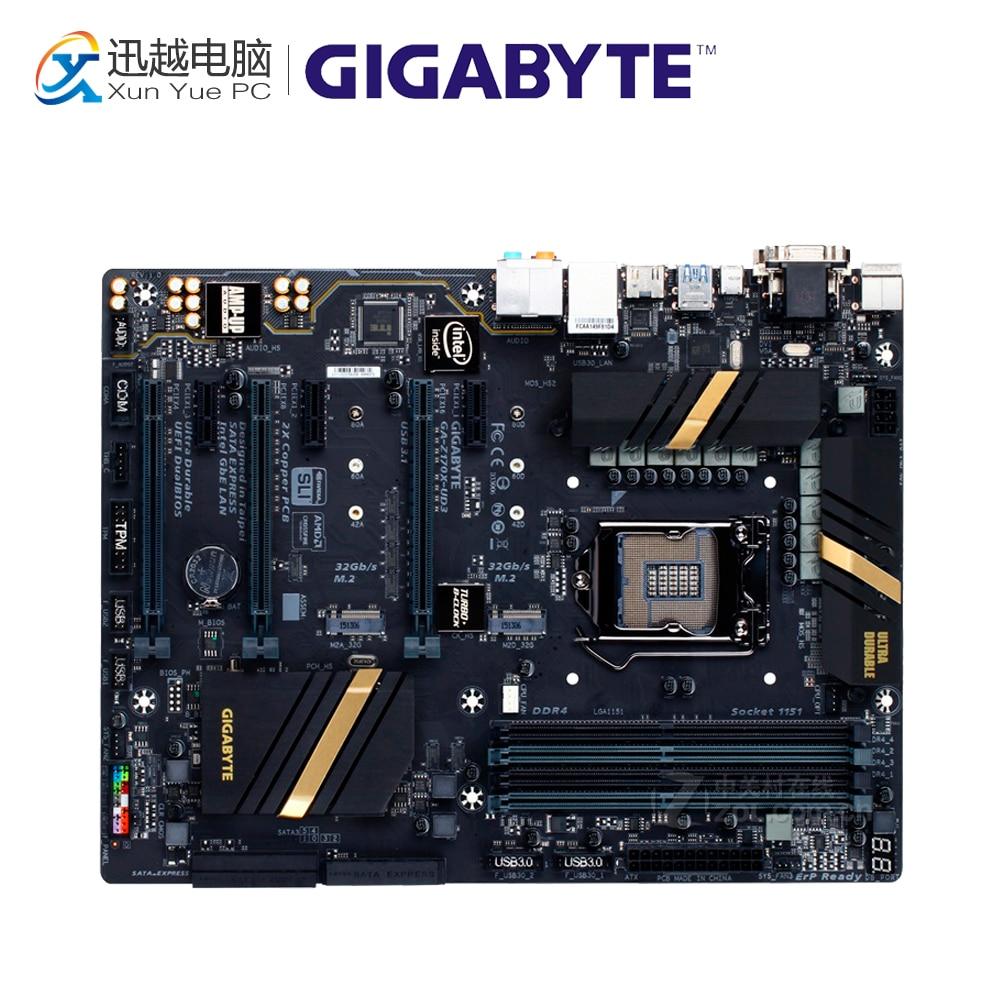 цена Gigabyte GA-Z170X-UD3 Desktop Motherboard GA-Z170X-UD3 Z170 LGA 1151 DDR4 64G USB3.1 ATX