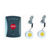 CE approval Wireless GSM SMS SOS Emergency Auto Dialer Alarm System w/ 2 Panic Buttons elderly/children/handicapped/medical care