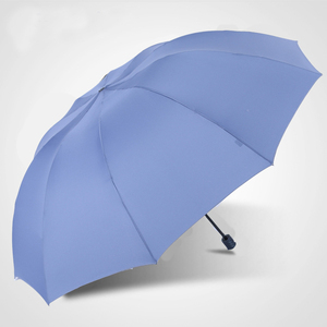 Image 5 - 152CM Top quality Umbrella Men Rain Woman Windproof Large Paraguas Women Sun 3 floding Big Family Umbrella Outdoor Parapluie