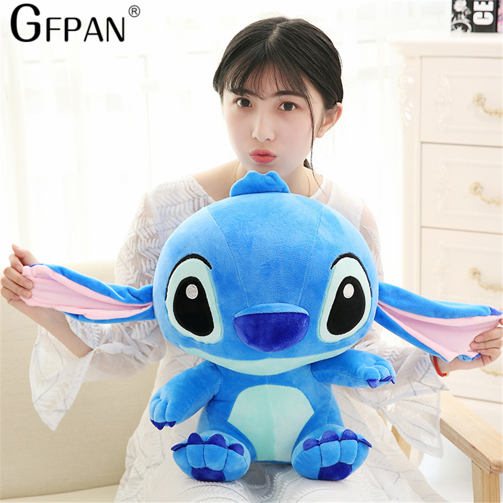 80cm Giant Cartoon Stitch Lilo & Stitch Plush Toy Doll Children Stuffed Toy For Baby Birthday Christmas Children Kid Gifts - 2