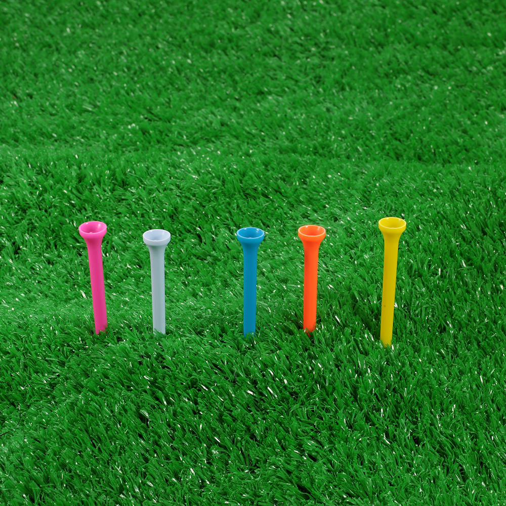Image 5 - 100Pcs 43mm 55mm 70mm 81mm 100mm Golf Ball Tees Outdoor Sports Golfer Aid Tool Plastic Golf Tees Cushion Top Golf Equipment-in Golf Balls from Sports & Entertainment