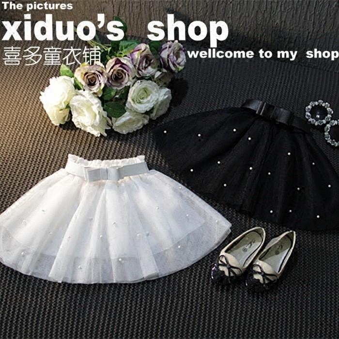 Sweet Girl Bow Tutu Skirt Babay Girl Princess Bow Gown Skirt (1)