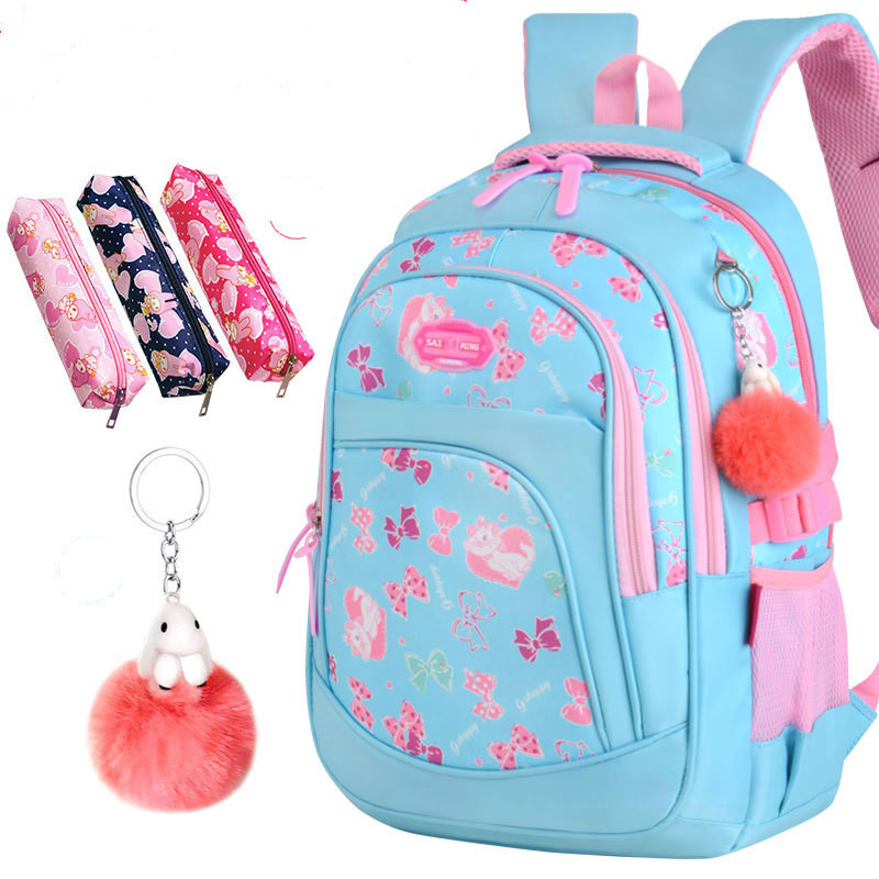 2018 children school bags girls waterproof backpack