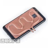 KOOLASON DIY Laptop Mobile phone Copper tube water cooling cooler heatsink radiator Game heat dissipation block pad