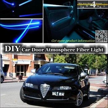 Para Alfa Romeo GT AR luz de ambiente interior Tuning atmósfera banda de fibra óptica luces iluminación de panel de puerta interior para Tuning