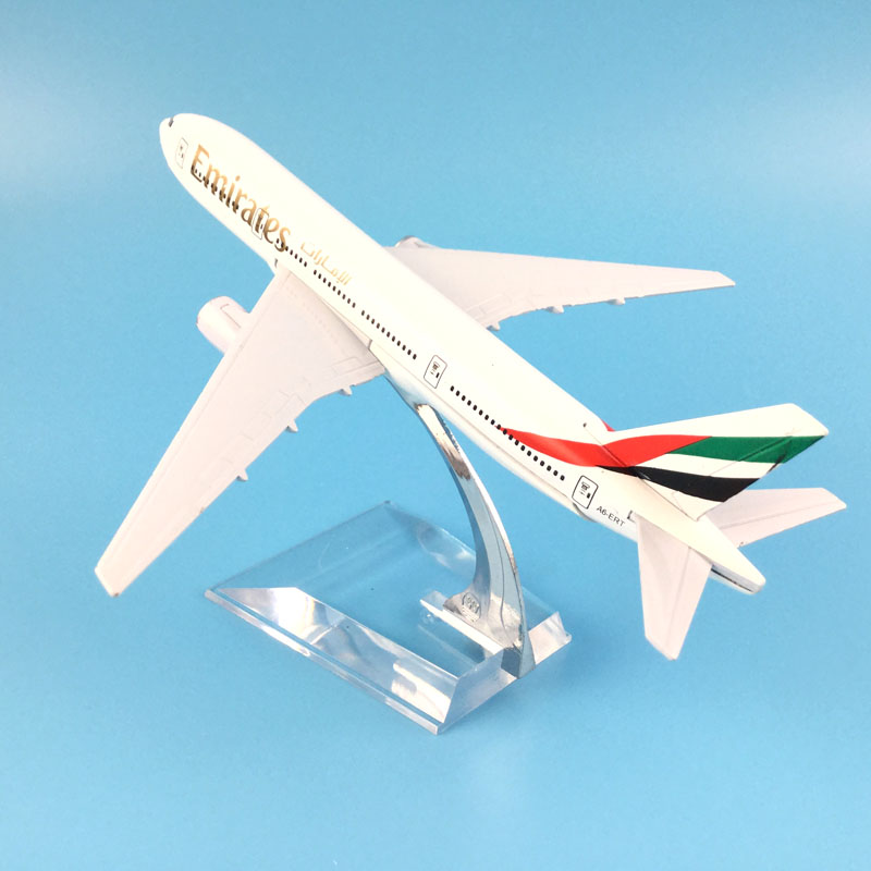 16cm Alloy Metal Air Emirates Airlines Airplane Model Airbus Airways Plane Model Stand A ...