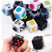Fidget font b Toy b font Stress Relief Focus Cube For Adults Children 6 ADHD AUTISM
