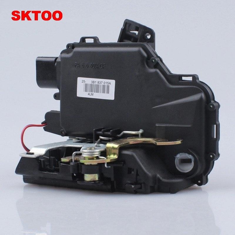 SKTOO For Volkswagen Front Left Dirver Side Door Lock Unit Module For vw Passat B5 Golf 4 MK4 Jetta MK4 Bora 3B1 837 015A