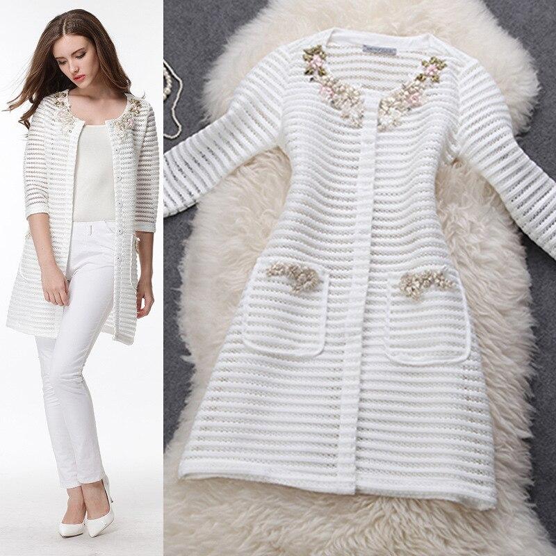 Ladies White Coats Long - Coat Nj