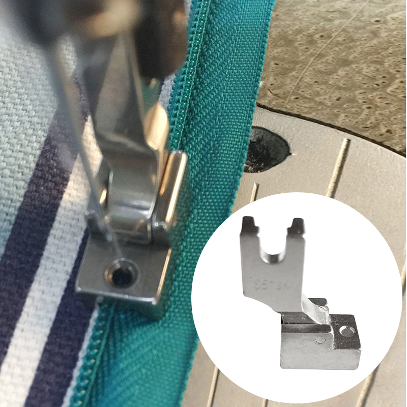 1Pcs Zipper Walking Foot For Industrial Sewing Machine New S518N Presser Foot Sewing Machine Parts & Accessories