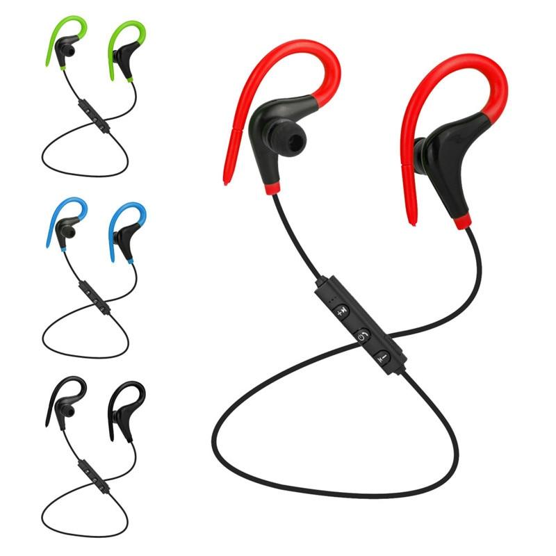 Gutsyman Bluetooth Earphones Business Headsets Wireless fone de ouvido ear hook Stereo Headphones Earbuds for all smart devices