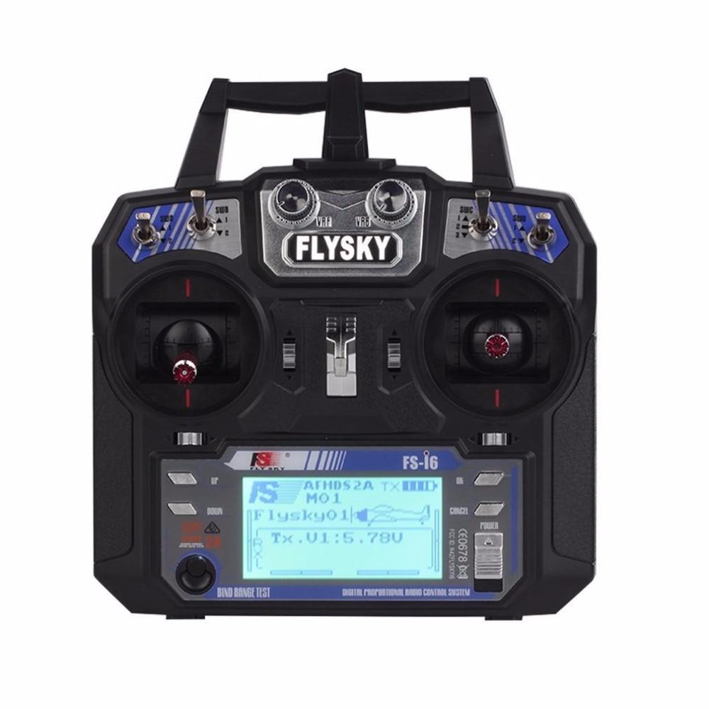 FS-i6 Flysky AFHDS 2A 2.4GHz 6CH Radio Transmitter & FS-iA6 Receiver f RC Heli аксессуар чехол для asus zenfone max zc550kl df soft touch aslim 10 black
