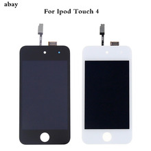 Сенсорный ЖК экран для iPod Touch 4 4, ЖК дисплей для iPod Touch 4, дигитайзер в сборе, ремонт, черный, белый, для iPod Touch 4