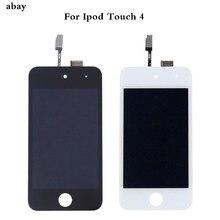 สำหรับ iPod Touch 4 4th LCD Touch Screen สำหรับ iPod Touch 4 จอแสดงผล Digitizer ASSEMBLY Repair สีดำสีขาวสำหรับ iPod TOUCH 4 หน้าจอ
