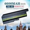 6600 mah de alta capacidad de la batería del ordenador portátil para lenovo/ibm thinkpad 92p1140 40y6799 92p1137 42t5233