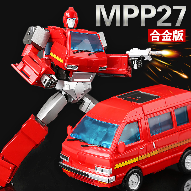 New WeiJiang Transformation MPP27 masterpiece MP27 Oversized alloy metal part Toy car Robot Action Figure model Free shipping dinosaur transformation plastic robot car action figure fighting vehicle with sound and led light toy model gifts for boy