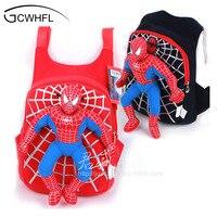 New Character 2014 Cute 3D Spiderman Children Backpacks Baby School Bags For Boys Cartoon Backpack Kids